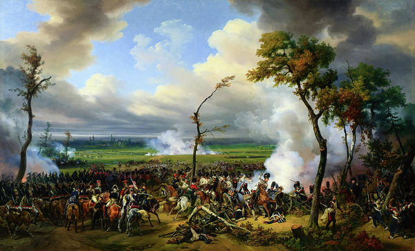 Wall Art - Painting - Battle Of Hanau - Digital Remastered Edition by Horace Vernet