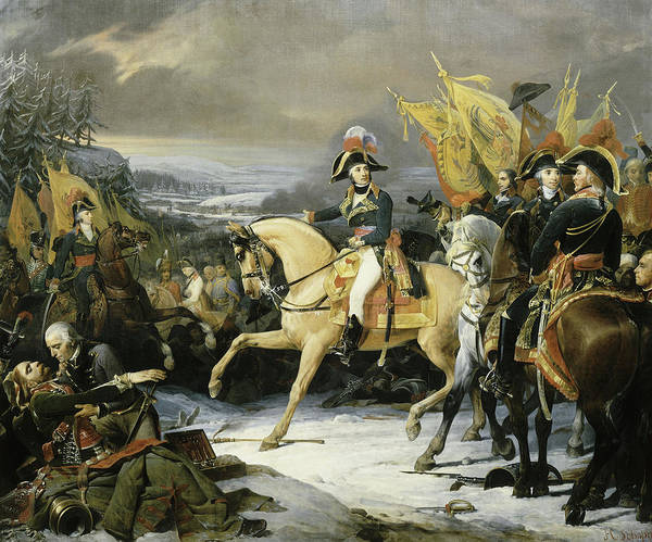 Wall Art - Painting - Battle Of Hohenlinden, 1800 by Henri Frederic Schopin