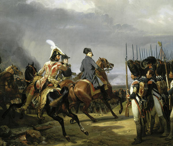 Wall Art - Painting - Battle Of Jena-auerstedt, 1806 by Horace Vernet