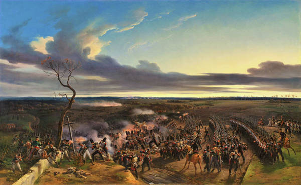 Wall Art - Painting - Battle Of Montmirail - Digital Remastered Edition by Horace Vernet