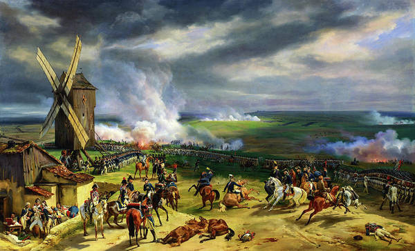Wall Art - Painting - Battle Of Valmy - Digital Remastered Edition by Horace Vernet