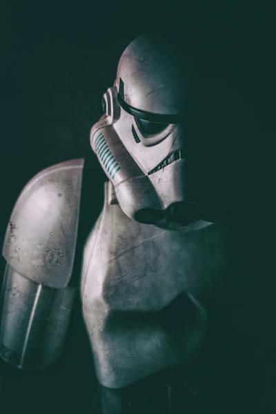 Darkside Photograph - Battle Trooper by Travis Nutley