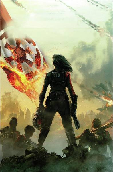 Wall Art - Digital Art - Battlefront II Inferno Squad Star Wars by Geek N Rock