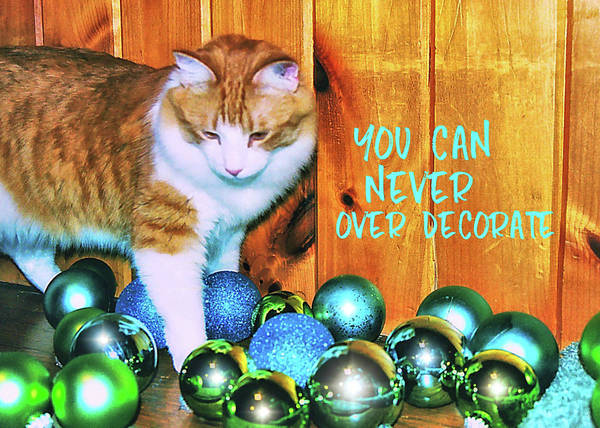 Photograph - Baubles Quote by JAMART Photography