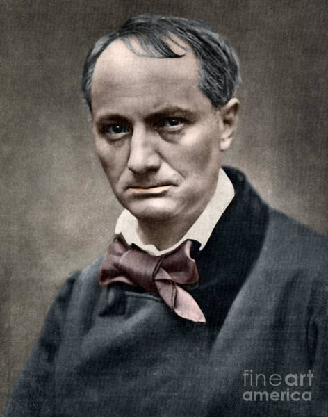 Wall Art - Photograph - Baudelaire by French School