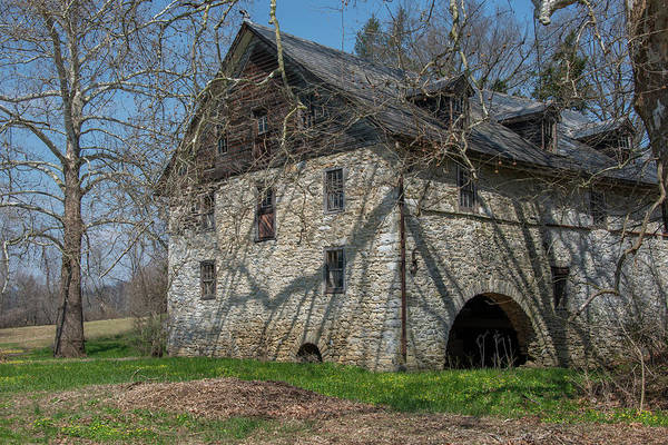 Wall Art - Photograph - Baumgardeners Mill - Lancaster County by Bill Cannon