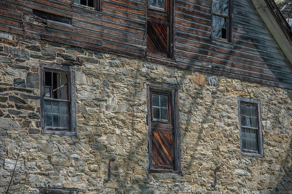 Wall Art - Photograph - Baumgardeners Mill Side - Lancaster County Pennsylvania by Bill Cannon