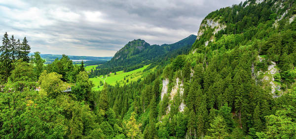 Photograph - Bavarian Alps Panorama by Borja Robles
