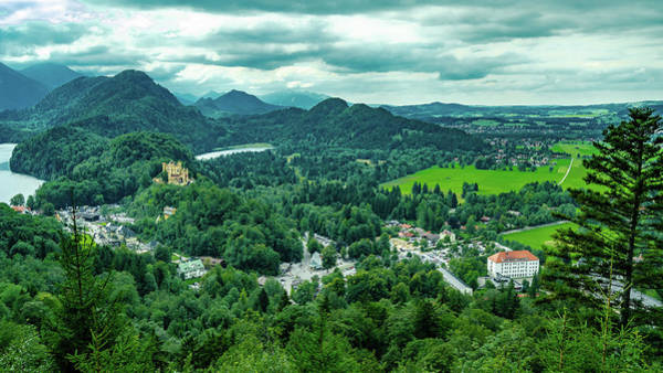 Photograph - Bavarian Landscape I by Borja Robles