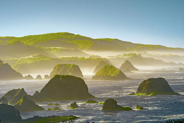 Wall Art - Photograph - Bay In California by Jon Glaser