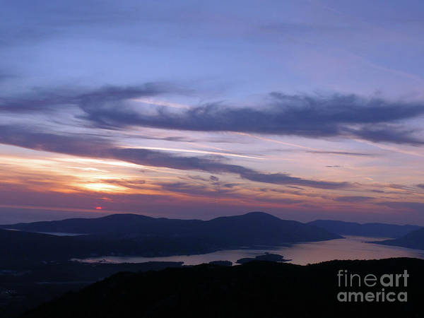 Photograph - Bay Of Kotor Sunset by Phil Banks