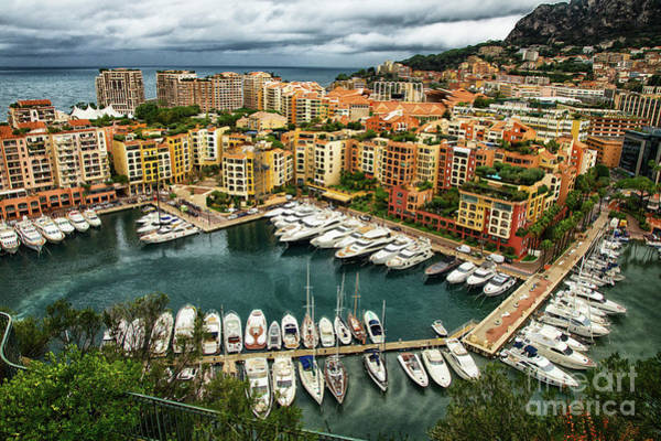 Wall Art - Photograph - Bay Of Monte Carlo Monaco by Wayne Moran