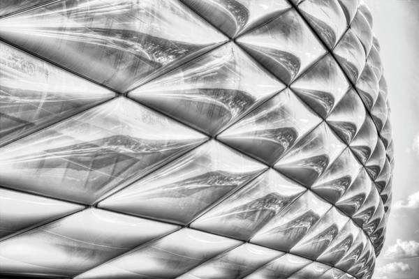 Wall Art - Photograph - Bayern Munich Allianz Arena  Abstract by David Pyatt