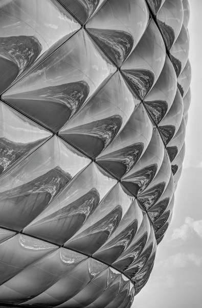 Wall Art - Photograph - Bayern Munich Stadium  A by David Pyatt