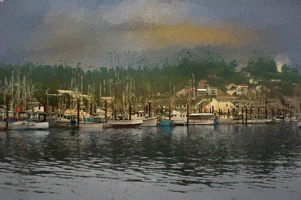 Digital Art - Bayside In Paint by Bill Posner