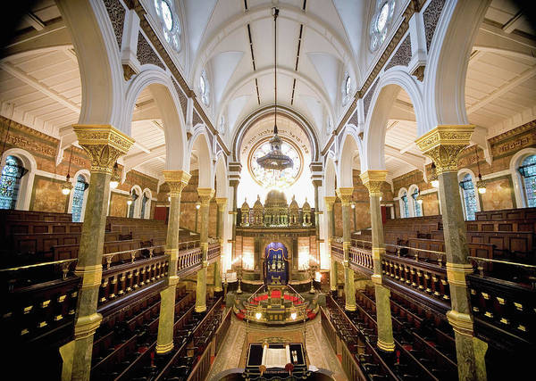 Photograph - Bayswater Synagogue Among 150 Places Of by Dan Kitwood