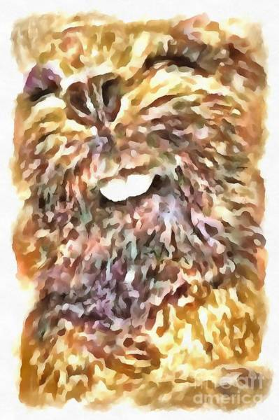 Painting - Bb Beaver by Catherine Lott