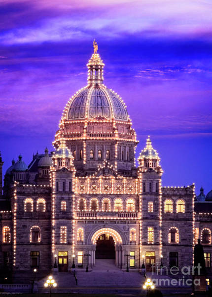 Photograph - Bc Parliament by Scott Kemper
