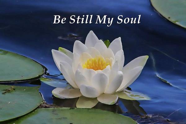 Easter Sunday Digital Art - Be Still My Soul by Marlin and Laura Hum