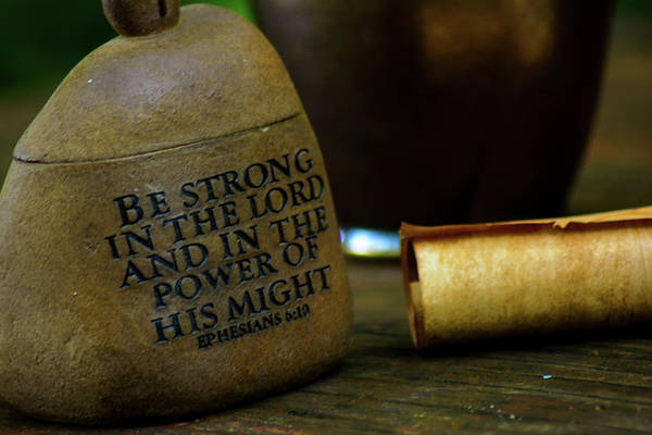 Wall Art - Photograph - Be Strong by Tikvah's Hope