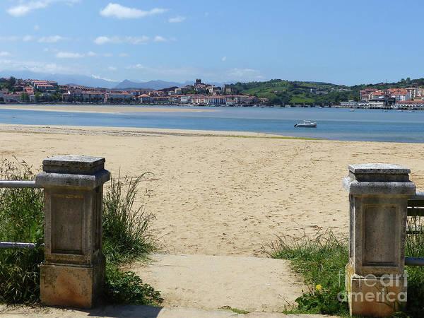 Photograph - Beach And San Vicente De La Barquera by Phil Banks