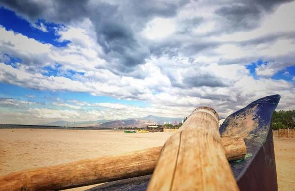 Wall Art - Photograph - Beach And Sky by Jlouis Fernandez