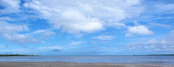 Photograph - Beach And Sky by Joan Stratton