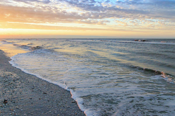 Wall Art - Photograph - Beach At Dawn, Sanibel Island, Florida by William Sutton