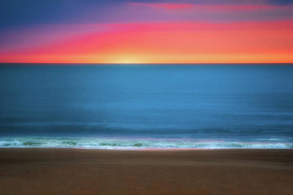 Atlantic Ocean Photograph - Beach At Sunrise by Tom Mc Nemar