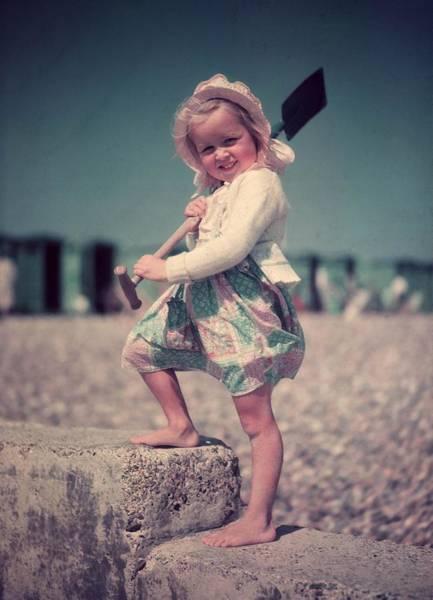 2 Photograph - Beach Baby by Keystone