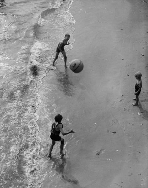 Playful Photograph - Beach Ballers by N Smith