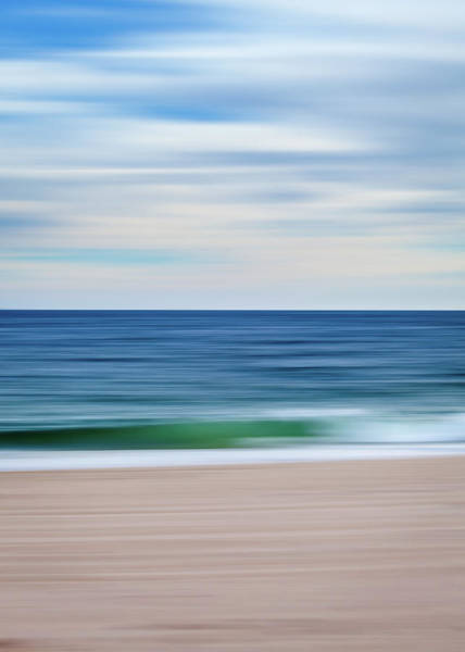 Photograph - Beach Blur by Eric Full