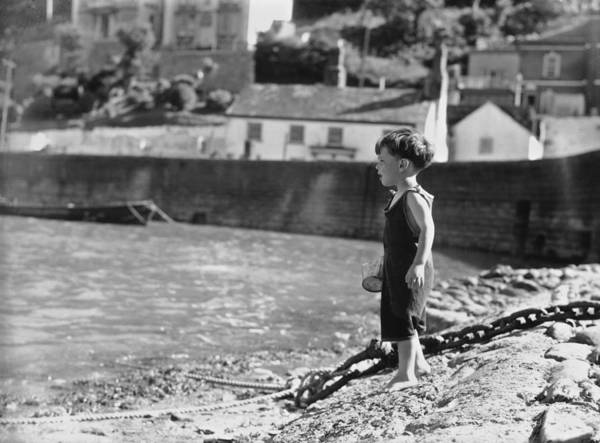 Child Photograph - Beach Boy by Chaloner Woods
