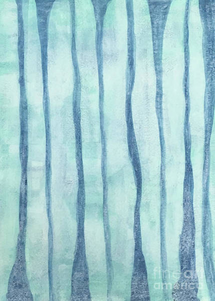 Painting - Beach Collection Beach Water Lines 2 by Annette M Stevenson