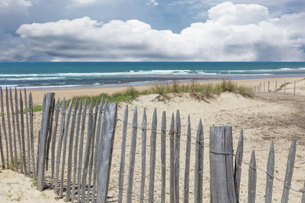 Photograph - Beach Fences On The Dunes by Debra and Dave Vanderlaan