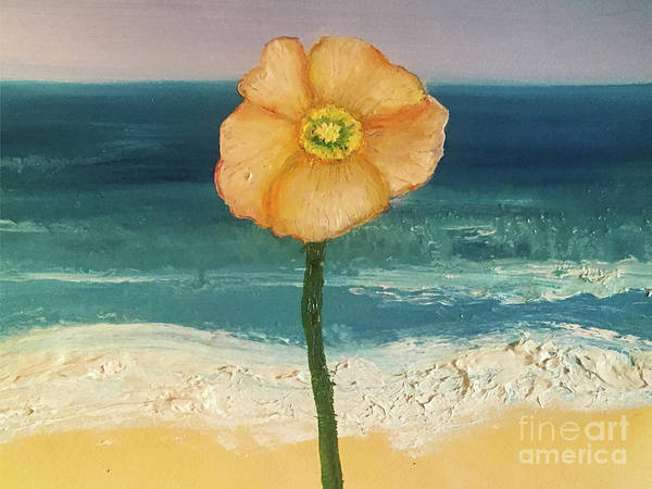 Painting - Beach Flora by Shelley Myers