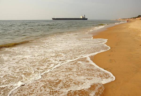 Goa Photograph - Beach In Candolim by Sisoje