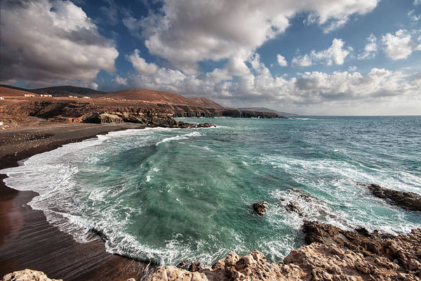 Canary Photograph - Beach Near Rocks by Photography By Juances