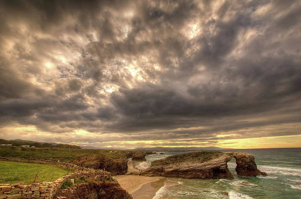 Wall Art - Photograph - Beach Of Cathedrals by By R.duran (rduranmerino@gmail.com)