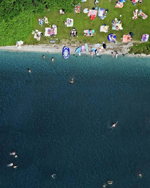 Lakeshore Photograph - Beach Of Lake by Bernhard Lang