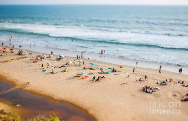 Sunbathing Wall Art - Photograph - Beach On The Indian Ocean. India Tilt by Andrey Armyagov