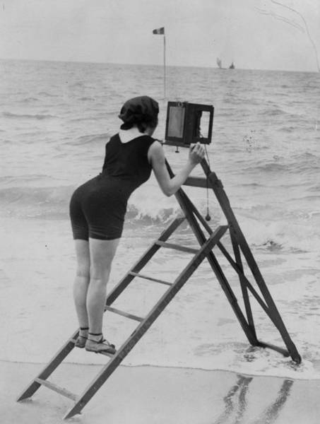 Beach Photographer Art Print