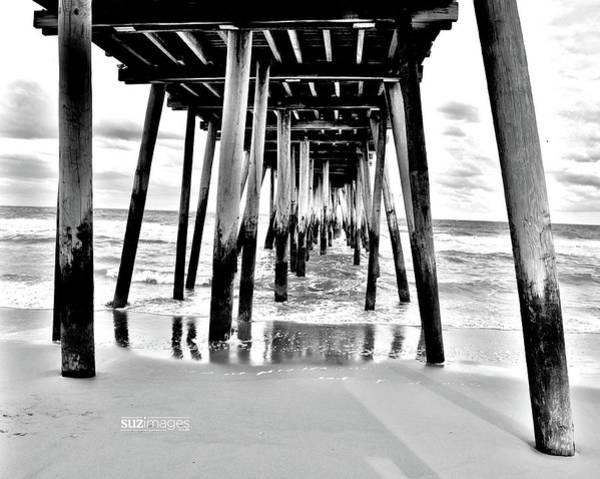 Photograph - Beach Pier Stories by Susie Loechler