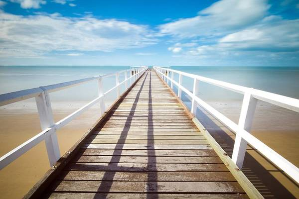 Photograph - Beach Pier by Top Wallpapers
