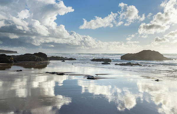 Wall Art - Photograph - Beach Praia Do Guincho Near Cascais by Martin Zwick
