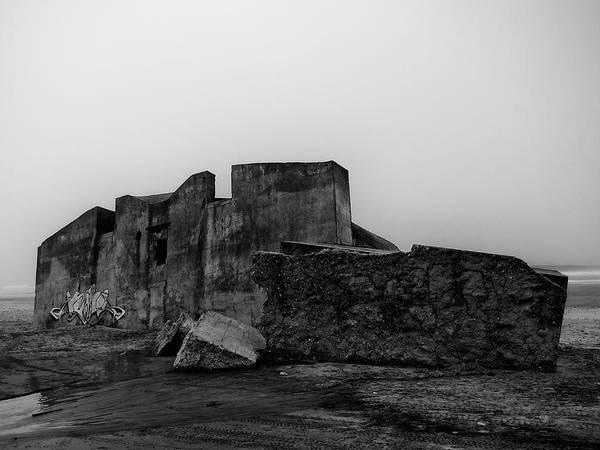 Photograph - Beach Ruine by Jorg Becker