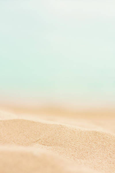 Texture Photograph - Beach Sand by Anneleven