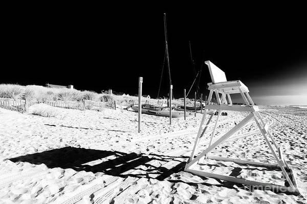 Photograph - Beach Shadows Avalon New Jersey by John Rizzuto