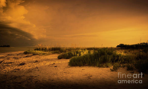 Wall Art - Photograph - Beach Storm Front by Marvin Spates