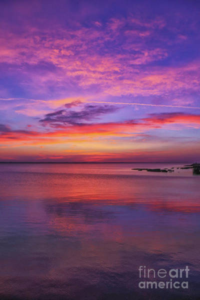 Wall Art - Digital Art - Beach Sunset Outer Banks Nine by Randy Steele